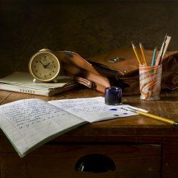 írás alkotás tinta gyakorlás